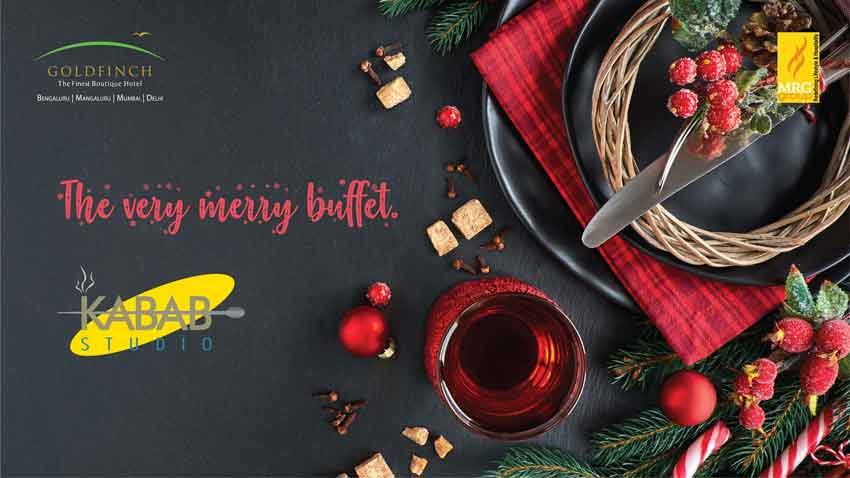 The Very Merry Buffet - 24 Dec 2018 - Kabab Studio, Mangalore