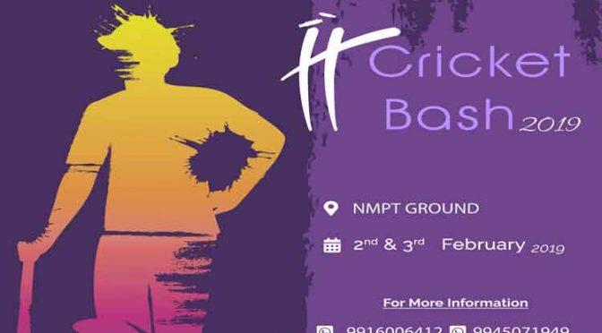 IT Cricket Bash 2019 - 2 & 3 Feb 2019 - Atlantic Leisure - NMPT Grounds, Mangalore