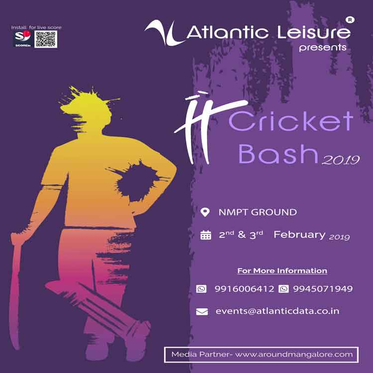 IT Cricket Bash 2019 - 2 & 3 Feb 2019 - Atlantic Leisure - NMPT Grounds, Mangalore