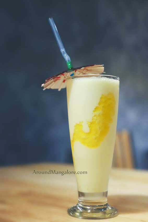 Mango Flappe - The Kaffeine Hub - Derebail, Mangalore