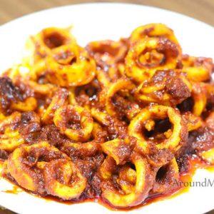 Squid Ghee Roast - Basha's Kitchen - Pandeshwar, Mangalore