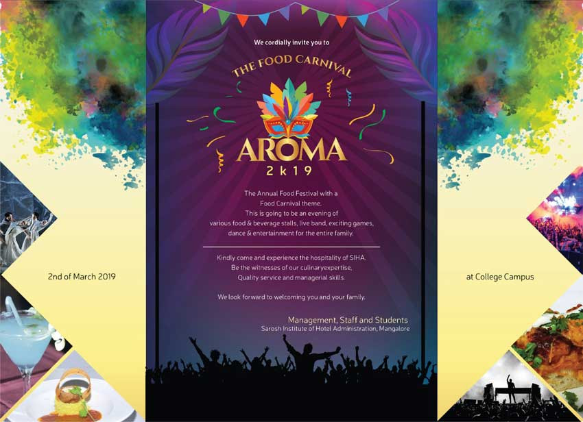 Aroma 2K19 - Food Carnival - 2-Mar-2019 - SIHA - Sarosh Institute of Hotel Administration
