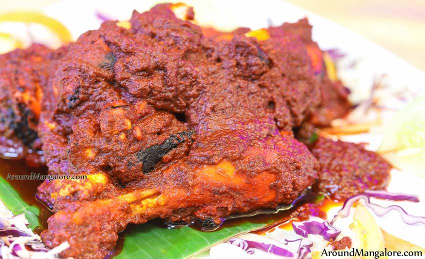 Chicken Ghee Roast - Trishna Grand - Trishna Hotels - Padavinangady, Mangalore