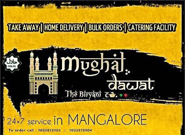 Mughal Dawat - Home Delivery - Mangalore