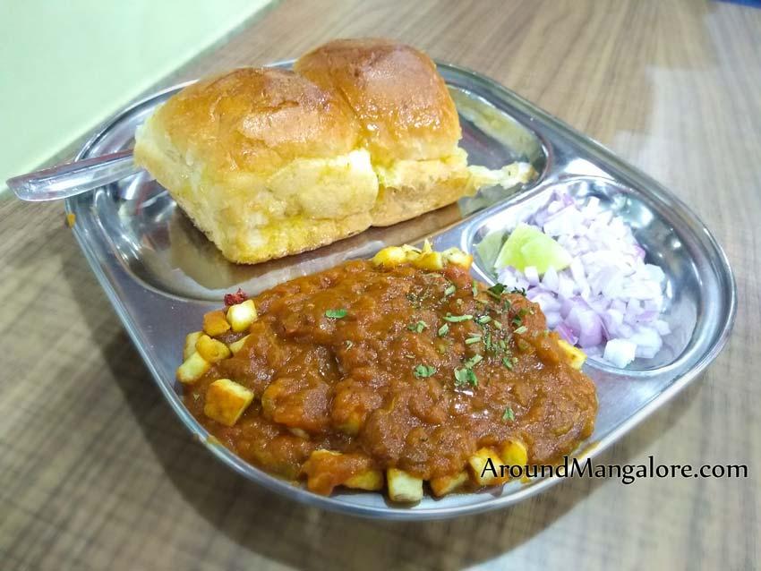 Paneer Pav Bhaji - Kafe 19 - Kapikad, Bejai, Mangalore