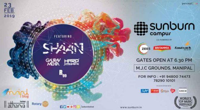 Sunburn Campus - Manipal - 23 Feb 2019