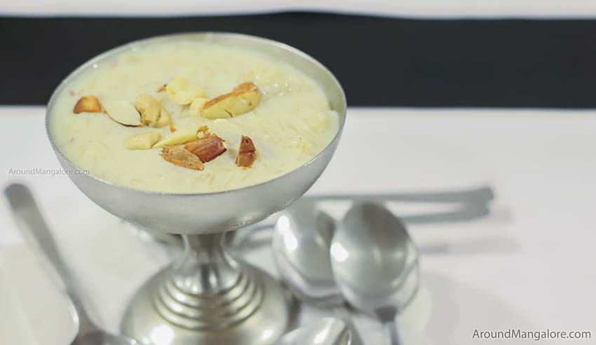 Kheer - Johnny Nawab - The Authentic Nawabi Restaurant - Kankanady, Mangalore
