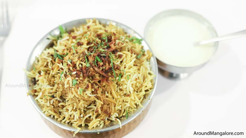 Mutton Biriyani - Johnny Nawab - The Authentic Nawabi Restaurant - Kankanady, Mangalore