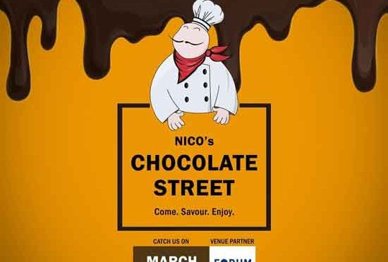 NICO's Chocolate Street - 30 & 31 Mar 2019 - Forum Fiza Mall, Mangalore