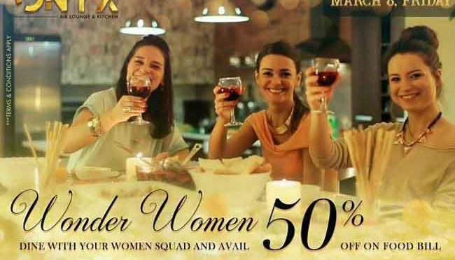ONYX - International Womens' Day - 2019 - Special Offers