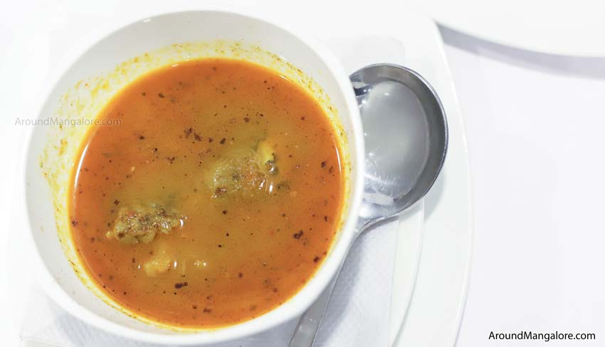 Paaya Soup - Johnny Nawab - The Authentic Nawabi Restaurant - Kankanady, Mangalore