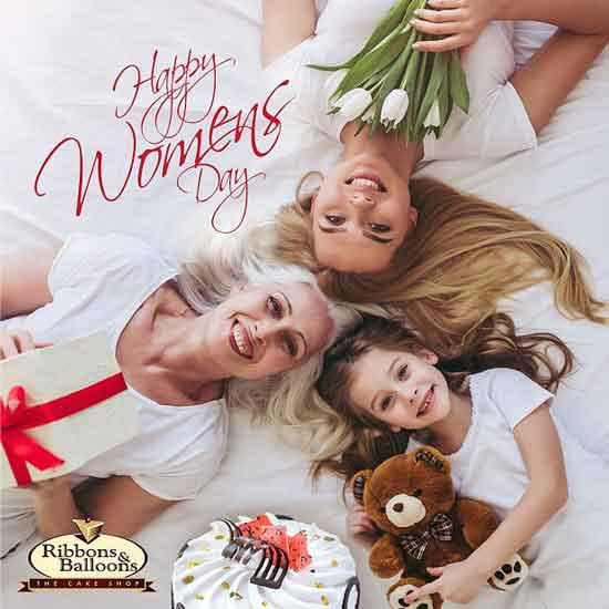 Ribbons And Baloons - International Womens' Day - 2019 - Special Offers