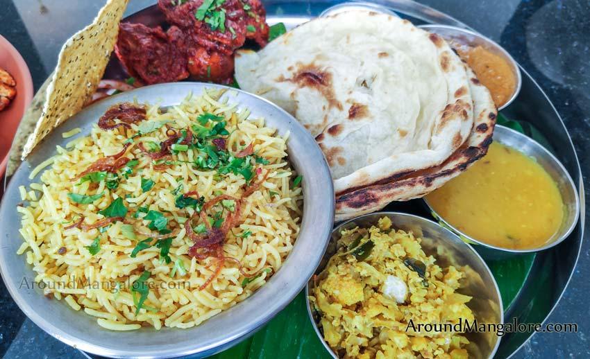 Swadisht Chicken Thali - Swadisht Restaurant - Pumpwell, Kankanady, Mangalore