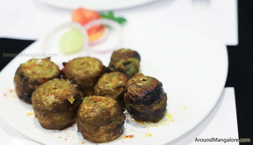 Tandoori Mushroom Johnny Nawab The Authentic Nawabi Restaurant Kankanady Mangalore - Johnny Nawab - The Authentic Nawabi Restaurant - Kankanady