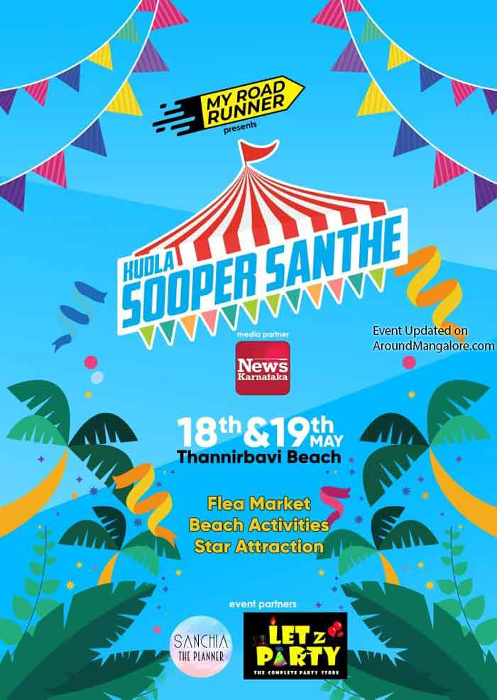 Kudla Sooper Santhe - 18 & 19 May 2019 - Thannirbavi Beach, Mangalore