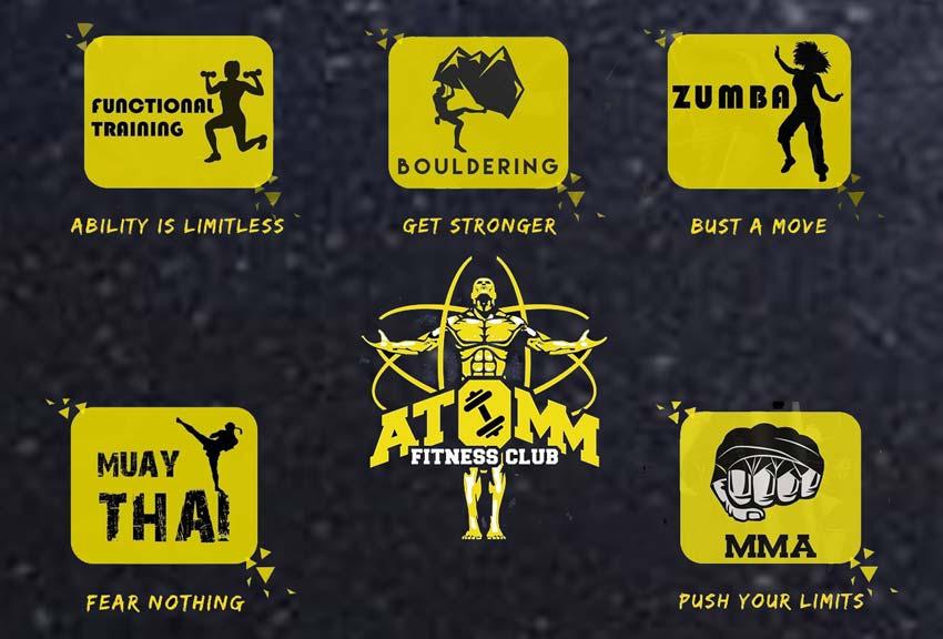ATOMM Fitness Club - Mannagudda, Mangalore