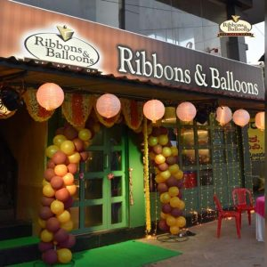 Ribbons and Balloons - Shirva - Cake Shop