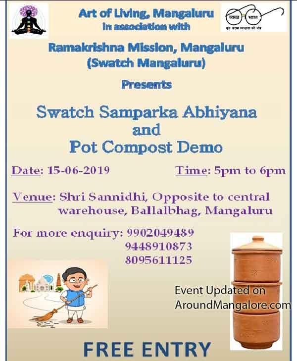 Swatch Samparka Abhiyana & Pot Compost Demo - 15-Jun-2019