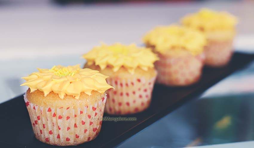 Mango Cream Cheese Cupcake - The 90's Buttercup - Cake Shop - Kottara, Mangalore