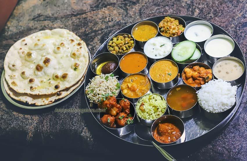 Special Meals/Thali - Hotel Kudla Rasa Prakash - Pure Veg Restaurant - Bejai, Mangalore