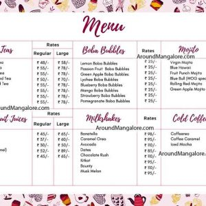 Food Menu - WOG - Waffle On Go - Pandeshwar, Mangalore