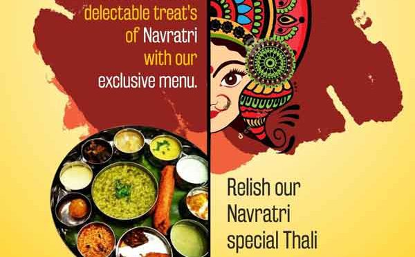 Navratri Special Thali - 29 Sep to 07 Oct 2019 - Hotel BMS, Derebail, Mangalore