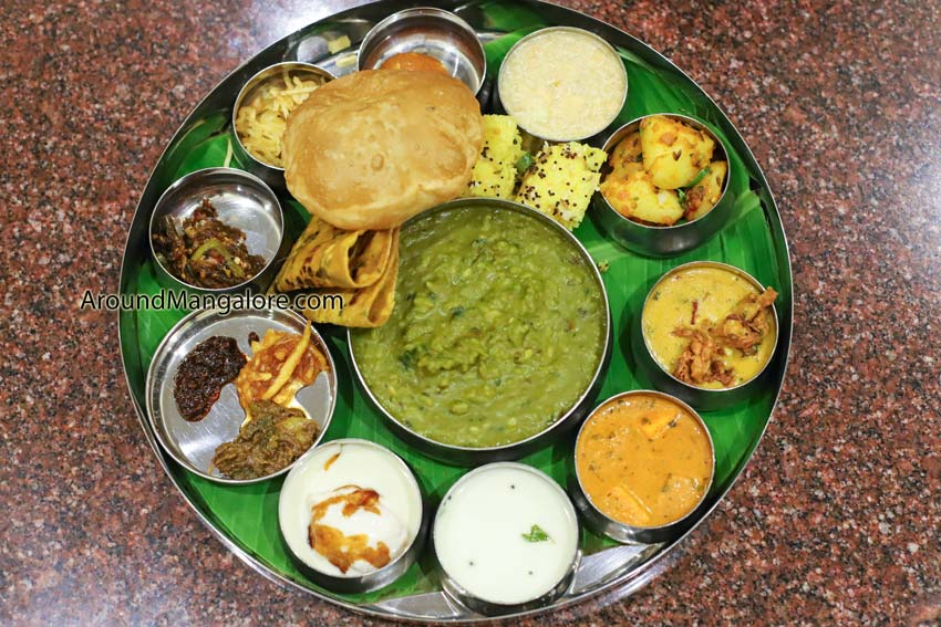Navratri Thali - Hotel BMS, Mangalore