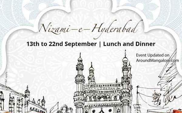 Nizami e Hyderabad - 13 to 22 Sep 2019 - Kabab Studio - GoldFinch, Mangalore