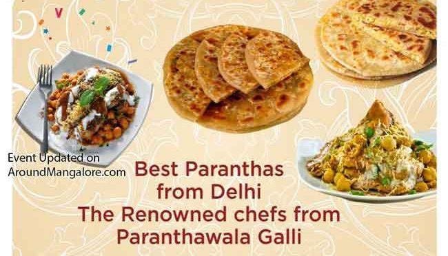 Parantha Festival - 6 to 16 Sep 2019 - Saffron Veg Cuisine, Brahmagiri, Udupi, Karnataka
