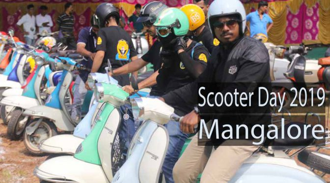 Southern Scooter Meet - Vintage & Classic Scooter Day 2019 - Mangalore, India