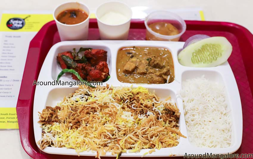 Chicken Thali - Spicy Pan - Andhra Cuisine - Restaurant - The Forum Fiza Mall, Pandeshwar, Mangalore