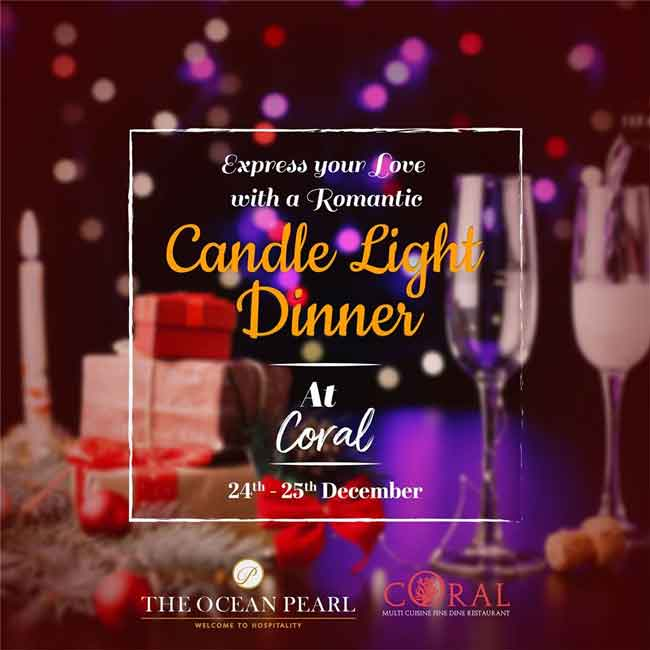 Candle Light Dinner - 24 and 25 Dec 2019 - The Ocean Pearl, Mangalore
