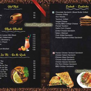 Food Menu - Pokket Cafe - City Centre Mall, KS Rao Road, Hampankatta, Mangalore