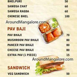 Food Menu - Maya Chats Cafe - Balmatta Road, Mangalore