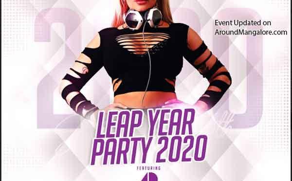 Leap Year Party 2020 - 29 Feb 2020 - DJ Adrima - G Food & Fun, Balmatta, Mangalore