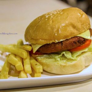 Veggie Patty Burger Grubbery – Always Hungry Resto – Cafe 300x300 - Grubbery - Always Hungry (Resto - Cafe) - Derlakatte