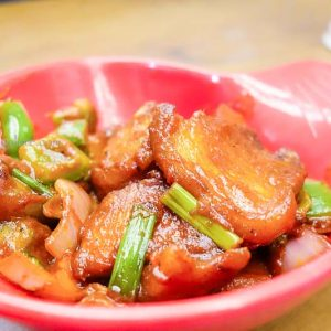 Devilled Pork - Mangala Restaurant, Mangalore