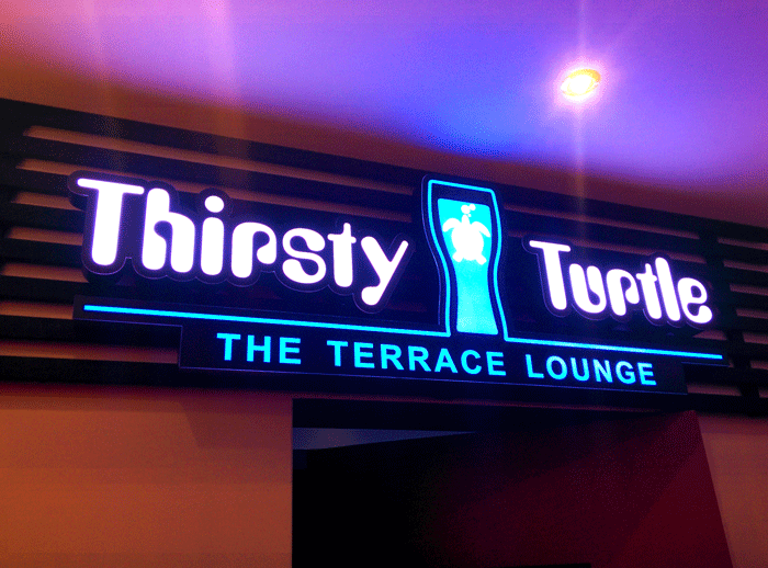 Thirsty Turtle – The Terrace Lounge