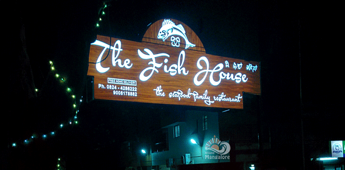 The Fish House – the seafood family restaurant, Mangalore
