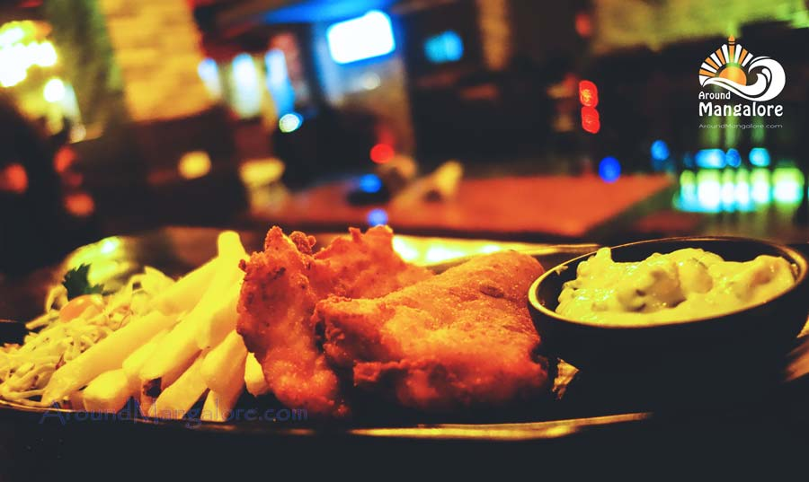 Fish and Chips - Spindrift, Mangalore