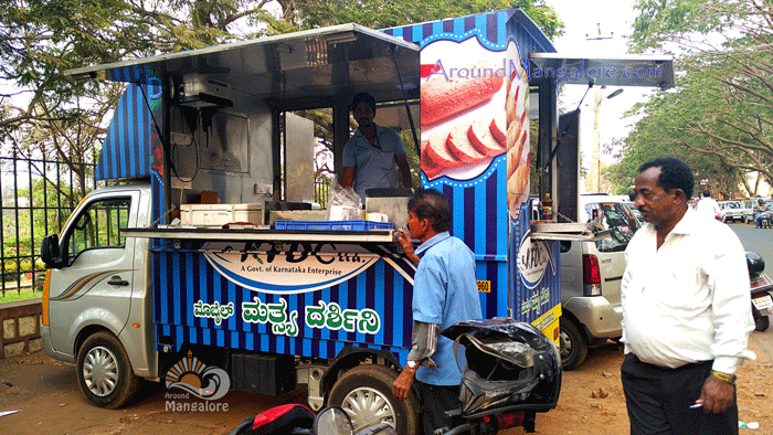 KDFC Stall - KDFC Ltd (The Karnataka Fisheries Development Corporation Ltd), Mangalore