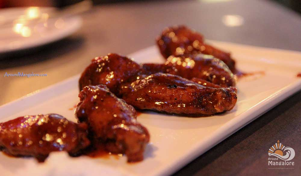 Barbecue Chicken Wings Retox Lounge Bar Hampankatta Mangalore - Retox Lounge Bar, Mangalore