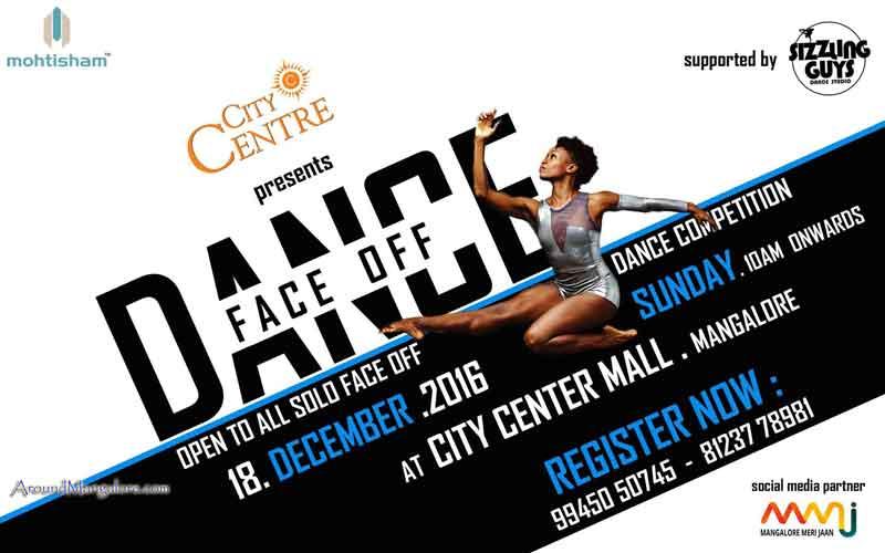 Dance Face Off - 18 Dec 2016 - City Center Mall, Mangalore