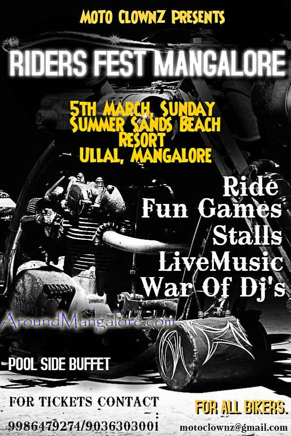 Riders Fest Mangalore – 5 Mar 2017