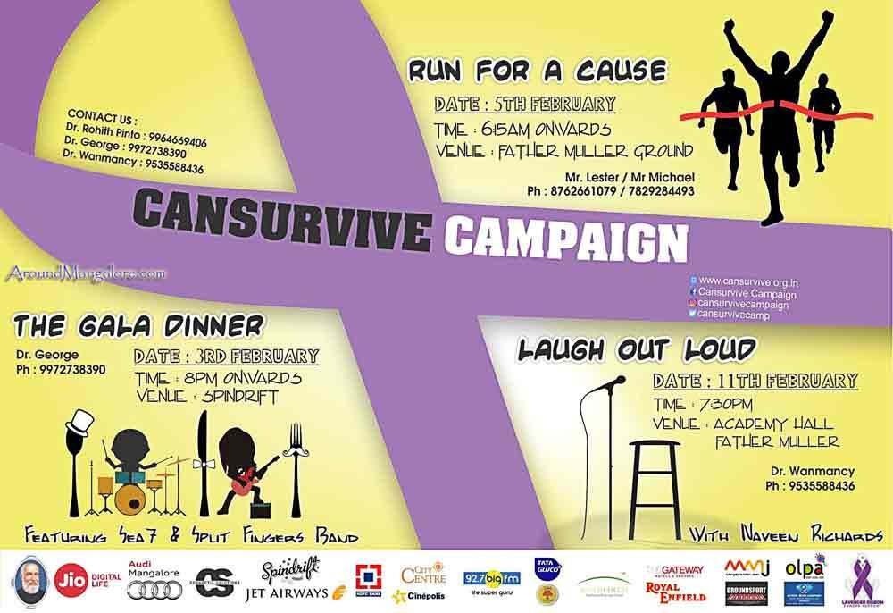 Cansurvive Campaign – Feb 2017 🗓