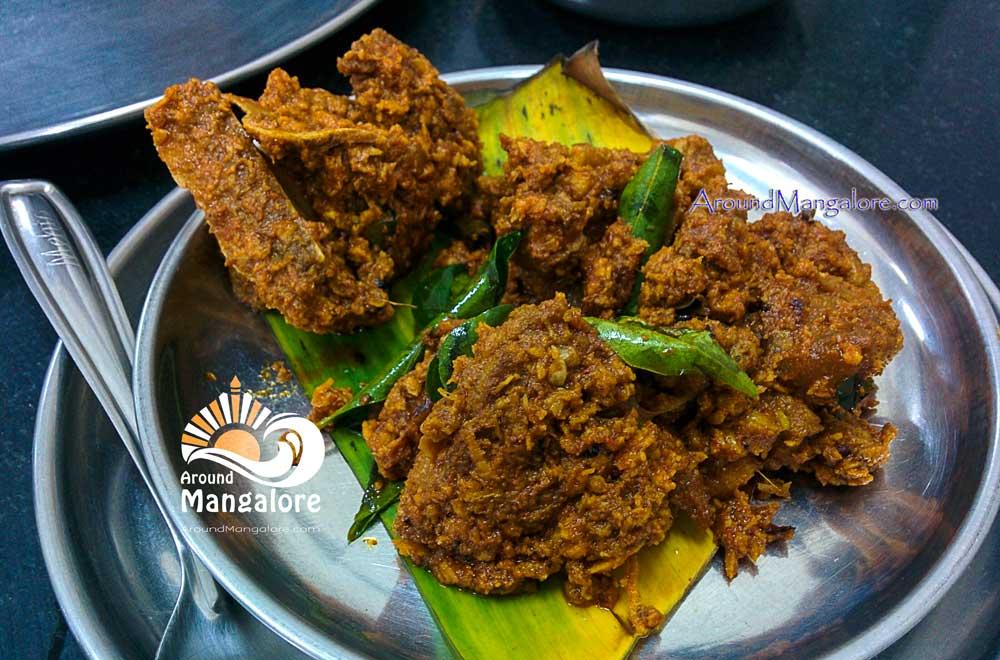 Mutton Sukka Tulunad Seafood Restaurant Karangalpady Mangalore - Tulunad Seafood Restaurant - Karangalpady