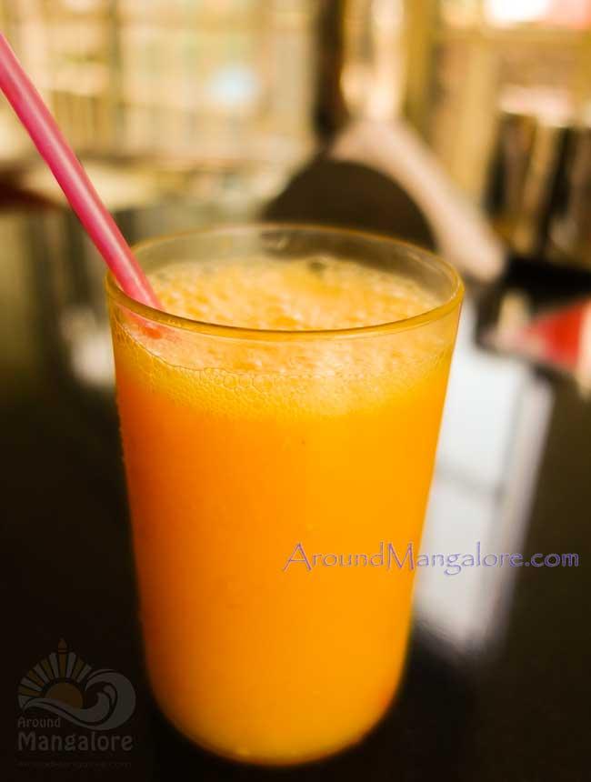 Mango Juice Sarvam Cafe Ballalbagh Mangalore - Sarvam Cafe - Ballalbagh