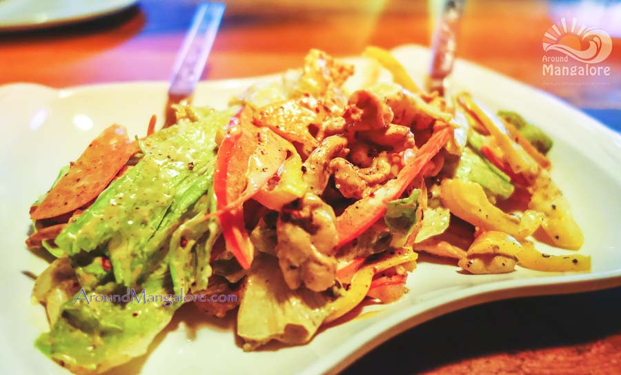 Chicken Salad - Boiler Room – The Urban Lounge Bar, Mangalore