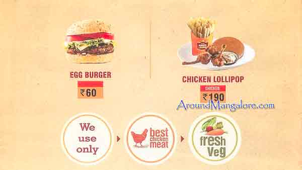 Food Menu Burger Lounge Mangalore P5 - Burger Lounge - Kodialbail