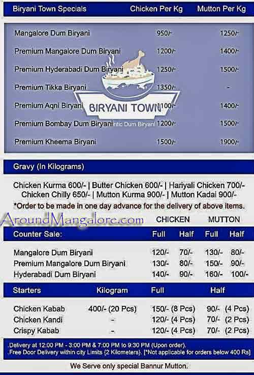 Biryani Town Mannagudda Mangalore P2 - Biryani Town - Mannagudda